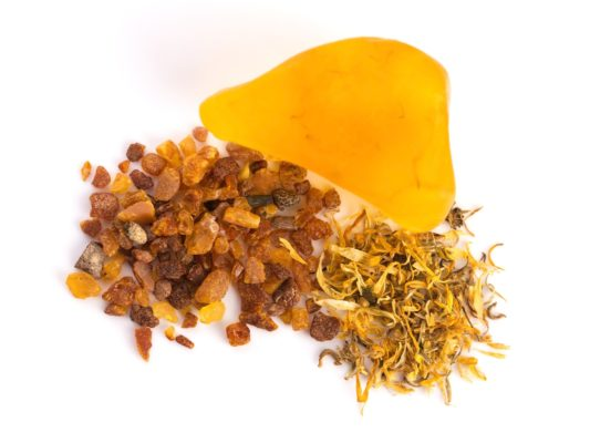 50g Amber Inclusieon soap with Baltic Amber
